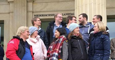 Ein Besuch im neuen/alten Landtag in Hannover kann auch für Jugendleiter Impulse geben - Foto: SJR