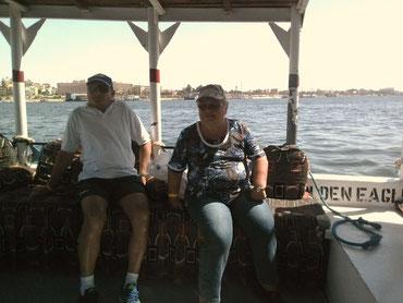 Hans und Renate am Nil