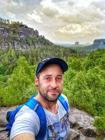 söchsische Schweiz, Wandern, Van, Leben genießen, Berge, Gebirge in Sachsen, bizarre Felsformationen, Elbsandsteingebirge