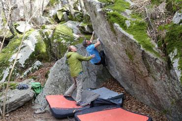 Bouldering Cresciano, Bouldering Chironico, Bouldern Tessin, Bouldering Ticino