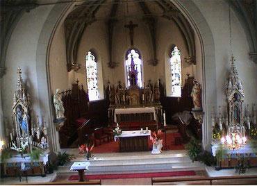 Nef église de Manspach