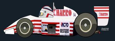 Helmet of Pascal Fabre by Muneta & Cerracín - AGS JH22