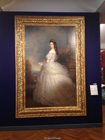 Schilderij koningin Sisi