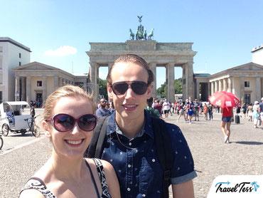 Selfie Brandenburger Tor