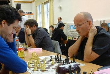 Peter Kranzl hält gegen Jakits die Partie im Gleichgewicht