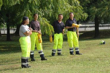 Esercitazione a secco  Basic Rescue Wild Water ® - Provincia di Padova