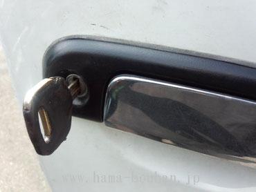 鍵が入ったが回らず?