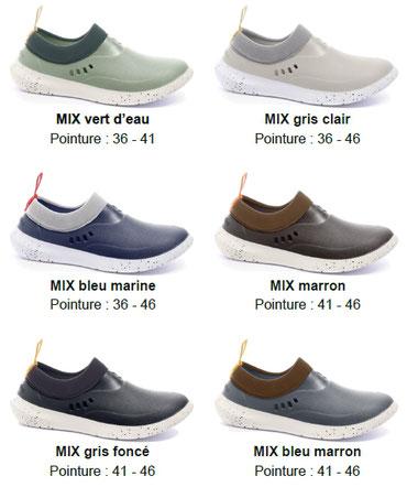 ©Rouchette, la gamme de chaussure MIX