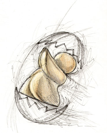 Zeichnung von Udo Schnaars