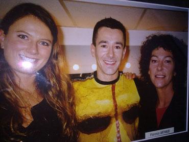 Avec Laurence BOURGNON et Florence ARTHAUT.