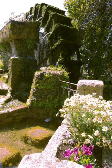 Une des roues à aubes qui alimentaient les fabriques de l'Isle-sur-la-sorgue
