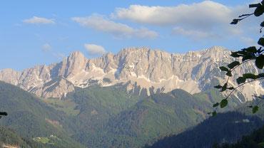 Blick aus der Ostflanke des Ferlacher Horns auf die Koschuta