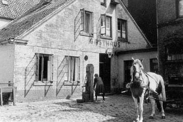 Pferdestall unseres Gemüsehändlers in der Eppendorfer Landstraße 145
