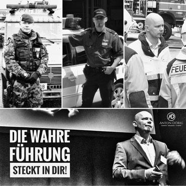 Anton Dörig: langjähriger Führungsexperte und Sicherheitsexperte mit internationaler Erfahrung!