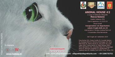 Einladung zur Ausstellung Animal House, Part 2