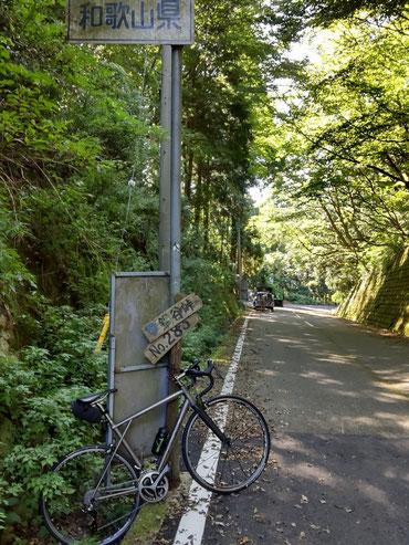 鍋谷峠 ロードバイク