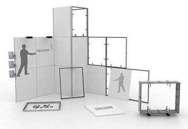 Flexibles Messesystem für den eigenen Messebau