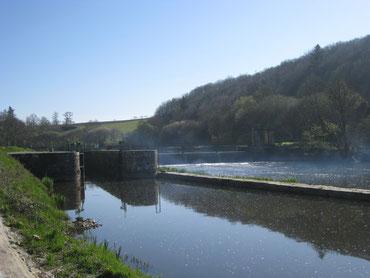L'écluse de Pont-Triffen