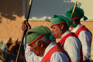 Traditionelles Fest - Männer in Tracht
