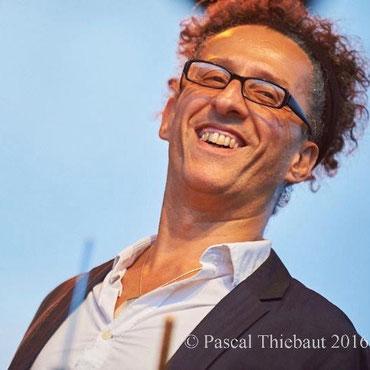 """Mourad Benhammou, batteur, intervenant dans la formule """"Jazz"""""""