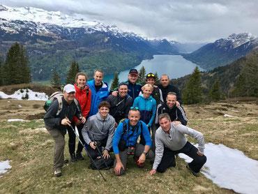 Das Team der Trainerbildung Schweiz auf Gummenalp