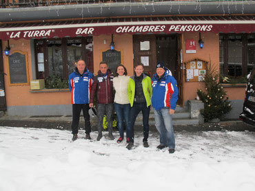 Coupe Europe De Ski-2016 Auberge La Turra