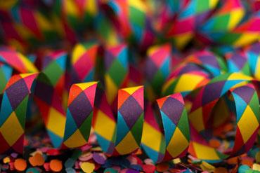 Luftschlange Party erlebnisgutschein kindergeburtstag feiern