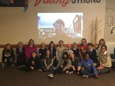 Book Club, North Canton school, Ohio USA.