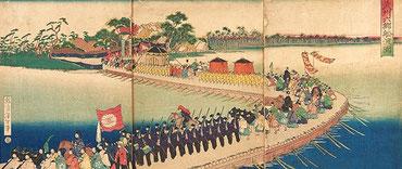 大政奉還(1867年) 天皇が京都から江戸城へ