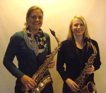 Vera Wingerter (li.) und Anne Kuntz