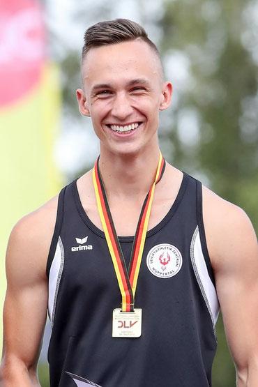 Deutscher U18 Jugendmeister Tom Ediger (Foto: Footcorner)