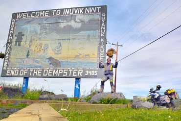 Inuvik am Ende des Dempster Highways