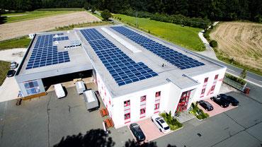 Photovoltaik für Industrie und Gewerbe