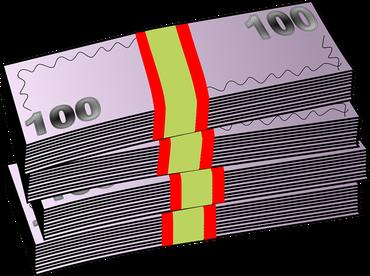Clipart von Banknoten