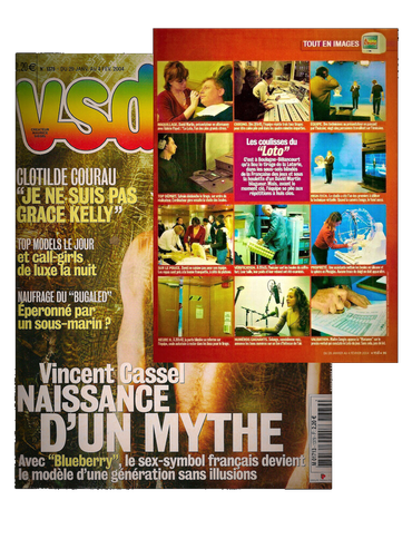 VSD  N° 1379  Tout en images : Les coulisses du Loto