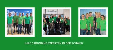 Ihre Cargobike Experten in der Schweiz