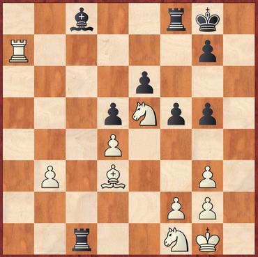 Roth - Milde: Erwin hätte hier mit 33.b4 Td8 34.b5 Td6 35.Ta8 Tc7 36.Sd2 Tb6 37.Sb3 klar in Vorteil kommen können
