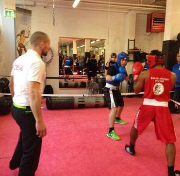 Erneuter Sieg für Manuel (BOXING TEAM ITTIGEN) in seinem 25. Light-Contact Boxing Kampf, 10.12.16 in Frenkendof LC-CUP FINALE 2016
