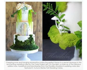 'Woodland Wedding Cakes – Part 2' | September 16