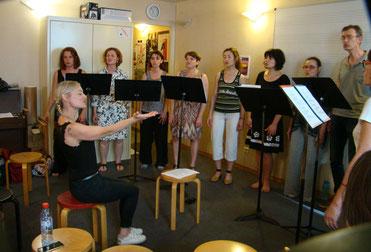 Stage de chant, avec Sonia Cat-Berro et Cécile Messyasz, A vous de jouer