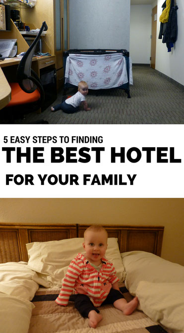 Planning some family travel? Finding the right hotel or apartment can have an impact on your family vacation. Use these 5 steps to find the best hotel for your next family holiday. Read more at www.BabyCanTravel.com/blog
