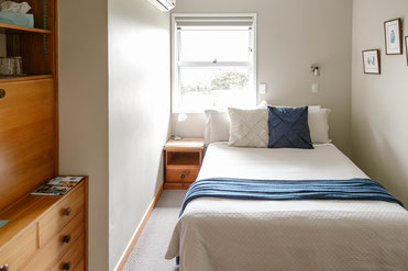 The nunnery accomodation Te Aroha- double room