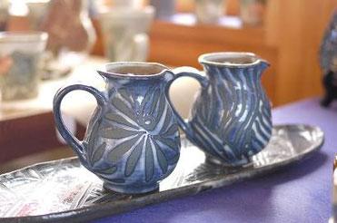 器と珈琲 Lien りあん のギャラリー: 沖縄陶器 相馬正和氏の作品
