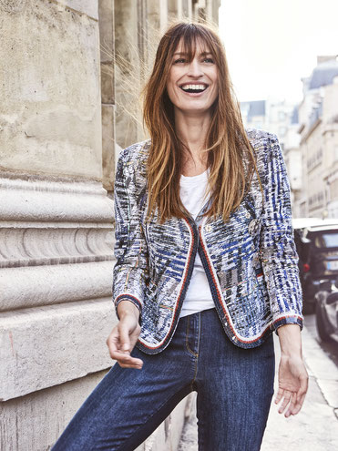 caroline de maigret, parisien chic , fashion from paris , famous model