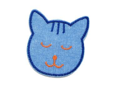 Katze Hosenflicken Jeansflicken Applikation Aufbügler Knieflicken für Kinder