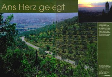 Umbrien ist das grüne Herz Italiens