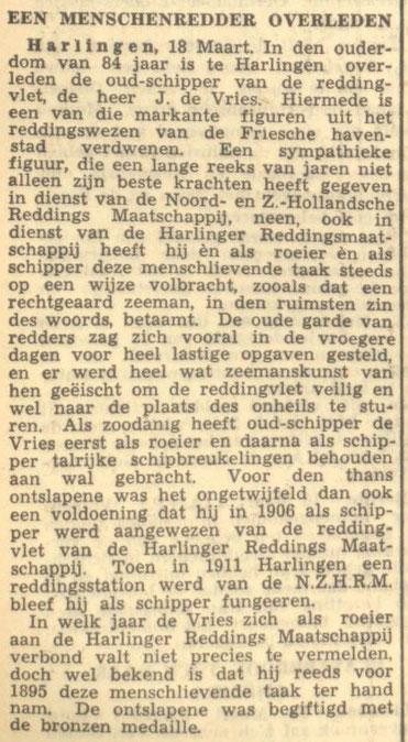 Leeuwarder Courant 19-03-1942