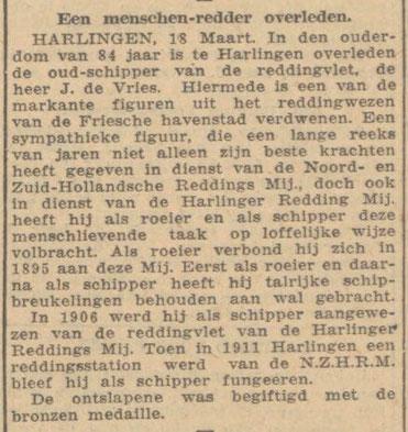 Nieuwsblad van Friesland 20-03-1942