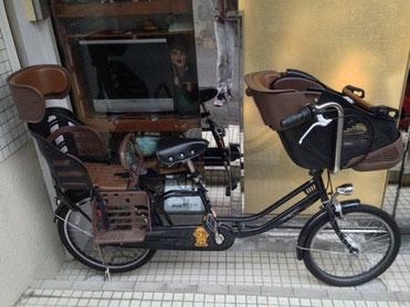 ママフレツイン子供乗せ自転車