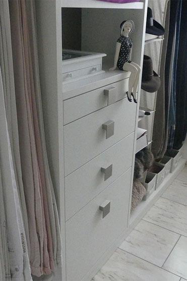 Schubkästen für Wäsche